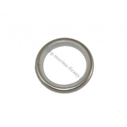 Kółko ciche okrągłe Gral fi 16 chrom-mat z agrafką (10 szt)