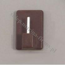 Element samoprzylepny do drążków (zazdrostek) brązowy - 1 szt