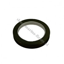 Kółko Gral fi 16 mm ciche płaskie - czarny matowy (10 szt)