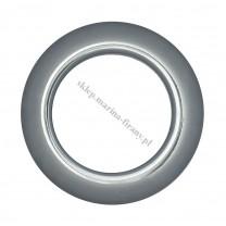 Przelotka KOŁO duża tytan połysk - średnica wewnętrzna 35 mm - 10 szt