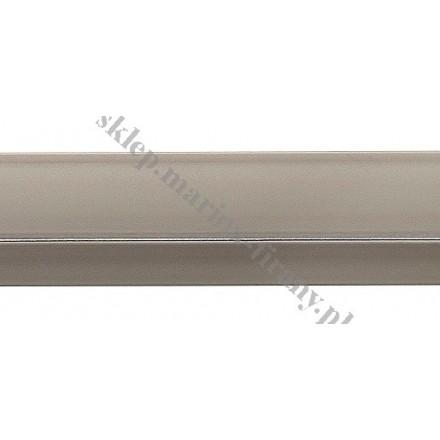 Drążek Kwadro chrom mat - 200cm