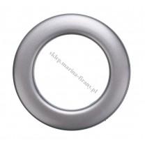 Przelotka KOŁO mała grafit mat - średnica wewnętrzna 20 mm - 10 szt
