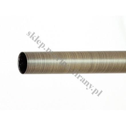 Drążek gładki Gral fi 19 patyna - 200cm