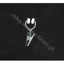 Żabka T metalowa do starych szyn sufitowych aluminiowych - 1 szt