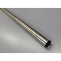 Drążek gładki Gral fi 16 efekt stali - 300cm
