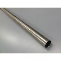 Drążek gładki Gral fi 16 efekt stali - 140cm