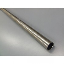 Drążek gładki Gral fi 16 efekt stali - 240cm