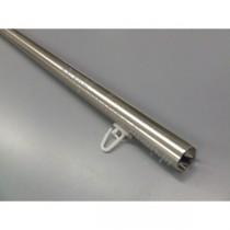 Profil / szyna Gral fi 16 efekt stali - 140cm