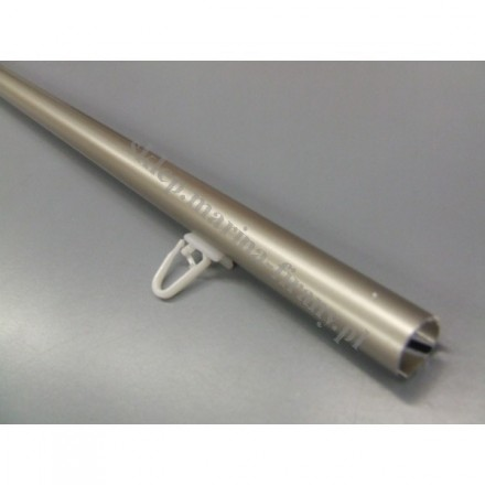 Profil Gral fi 16 chrom mat - 200cm