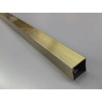 Drążek Kwadro złoto antyczne - 180cm