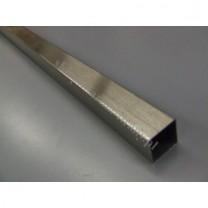 Drążek Kwadro efekt stali - 200cm
