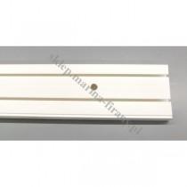 Szyna sufitowa dwutorowa biała 8382- 180 cm