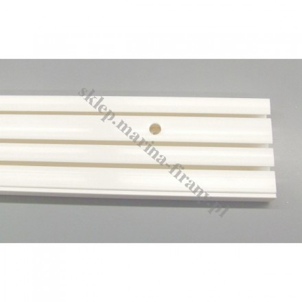 Szyna sufitowa trzytorowa biała - 180 cm