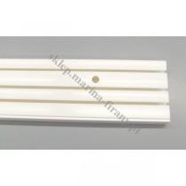 Szyna sufitowa trzytorowa biała 8392 - 180 cm