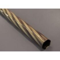 Drążek twister Gral fi 25 antyk - 200cm