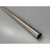 Drążek gładki Gral fi 19 efekt stali - 300cm