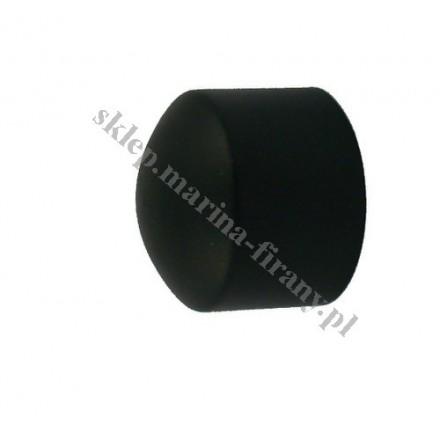 Zaślepka Gral fi 19 mm czarny matowy (Para)