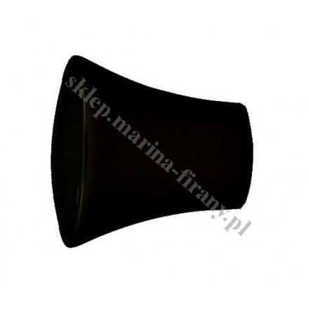 Końcówka Gral fi 19 mm czarny matowy - Prince (Para)