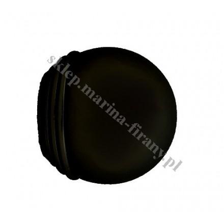 Końcówka Gral fi 19 mm czarny matowy - Todi Max (Para)