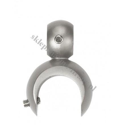 Uchwyt na dodatkową rurę dla wspornika otwartego fi 16, fi19 i fi 25 - kolor chrom mat