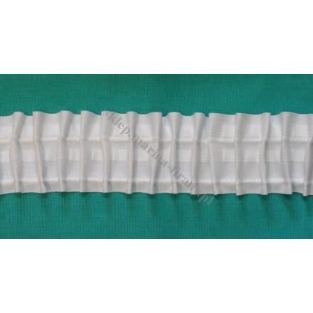 """Taśma firanowa \"""" ołówki \"""" szer. 5 cm bawełna - 50 mb"""