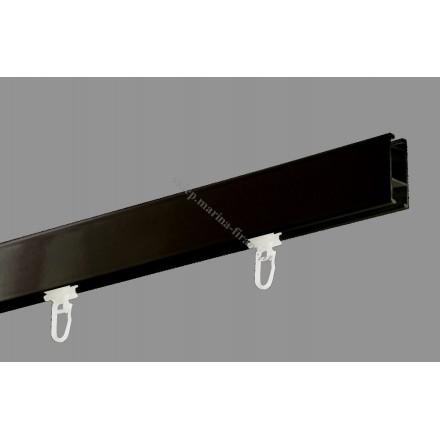 Profil Square Line kolor czarny błysk - 160cm