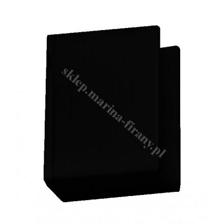 Wspornik boczny Square Line - kolor czarny połysk