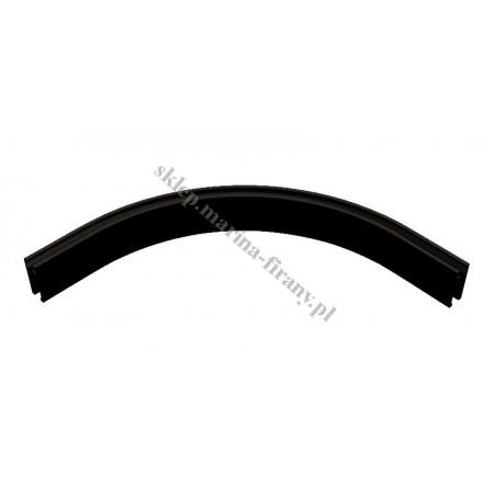 Łuk profila Square Line średni 320 mm - kolor czarny połysk
