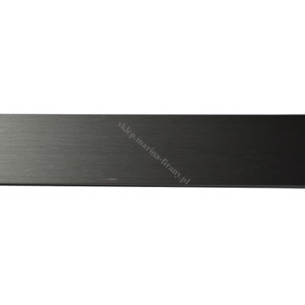 Profil Square Line czarny mat 240 cm