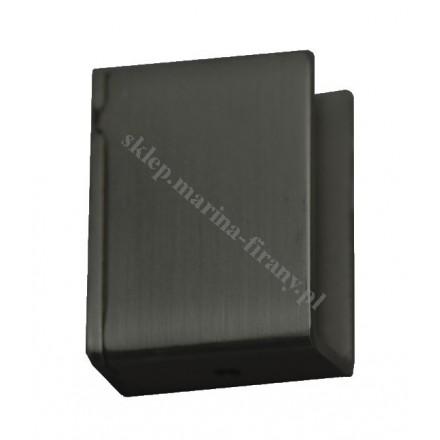 Wspornik boczny Square Line - czarny matowy
