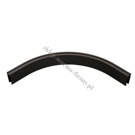 Łuk profila Square Line średni 320 mm - kolor czarny mat