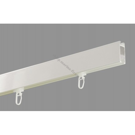 Profil Square Line kolor biały błysk - 240cm