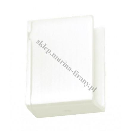 Wspornik boczny Square Line - biały połysk