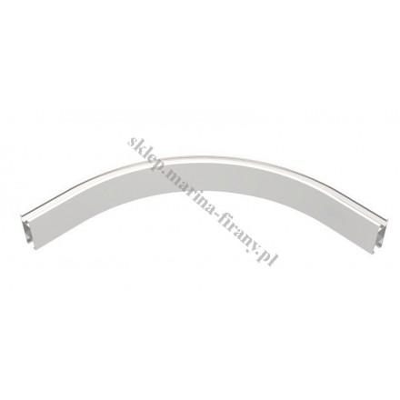 Łuk profila Square Line średni 320 mm - kolor biały połysk