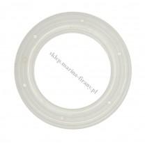 Przelotka KOŁO duża transparentna połysk- średnica wewnętrzna 35 mm - 10 szt