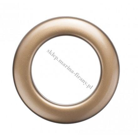 Przelotka KOŁO duża antyk mat - średnica wewnętrzna 35 mm - 10 szt