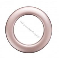 Przelotka KOŁO duża miedź mat - średnica wewnętrzna 35 mm - 10 szt