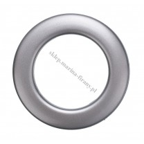 Przelotka KOŁO duża grafit mat - średnica wewnętrzna 35 mm - 10 szt