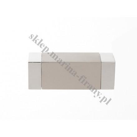 Końcówka Kwadro chrom mat - KWADRO (Para)