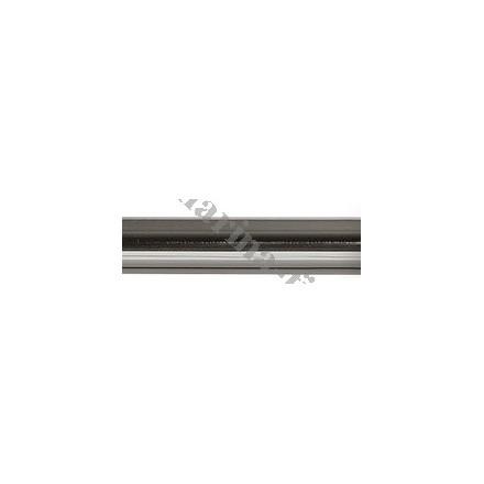 Drążek gładki Gral fi 25 onyx - 140cm