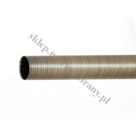 Drążek gładki Gral fi 16 patyna - 140cm