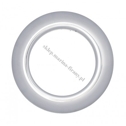 Przelotka KOŁO duża uniwersalna chrom połysk - średnica wewnętrzna 35,50 mm - 10 szt