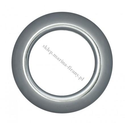 Przelotka KOŁO duża uniwersalna tytan połysk - średnica wewnętrzna 35,50 mm - 10 szt