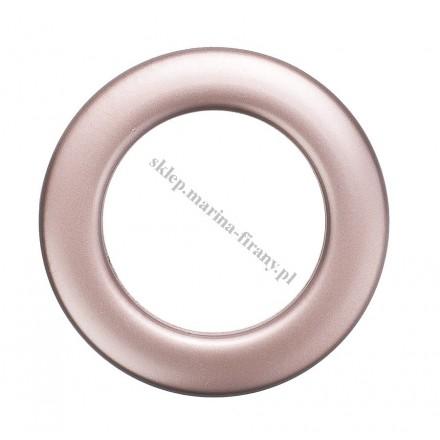 Przelotka KOŁO mała miedź mat - średnica wewnętrzna 20 mm - 10 szt
