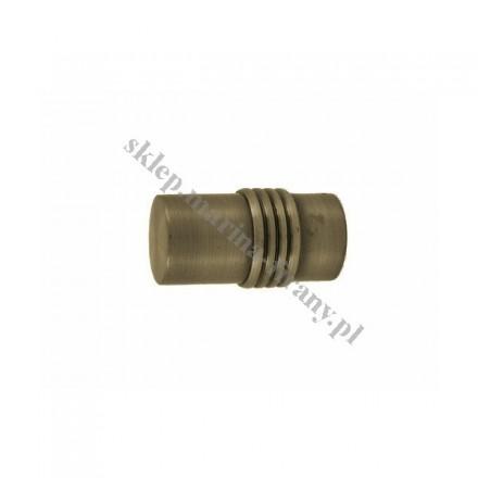 Końcówka Gral fi 19 patyna - Cylinder (Para)