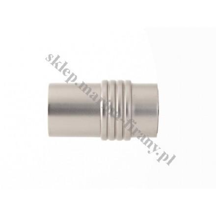 Końcówka Gral fi 19 chrom mat - Cylinder (Para)