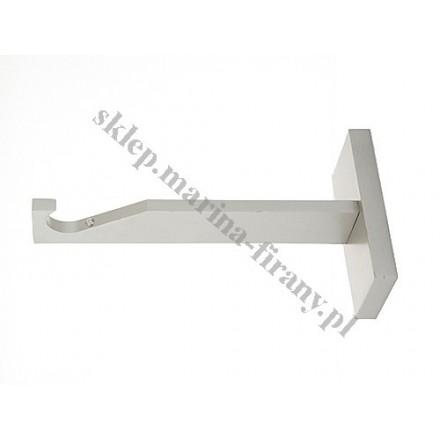 Wspornik gral SLIM pojedynczy do rury lub do profila 19 mm - chrom mat