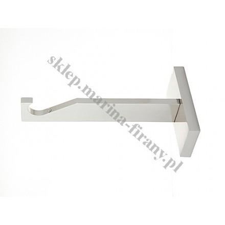 Wspornik gral SLIM pojedynczy do rury lub do profila 19 mm - efekt stali
