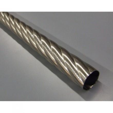 Drążek twister Gral fi 16 chrom mat - 300cm