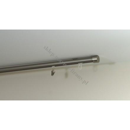 Szyna sufitowa Gral 19 jednotorowa, chrom mat (SUW0006)